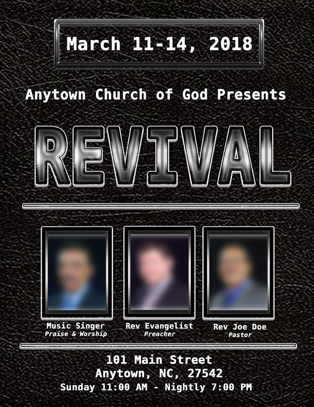 Revival Resources – Eastern North Carolina Church of God